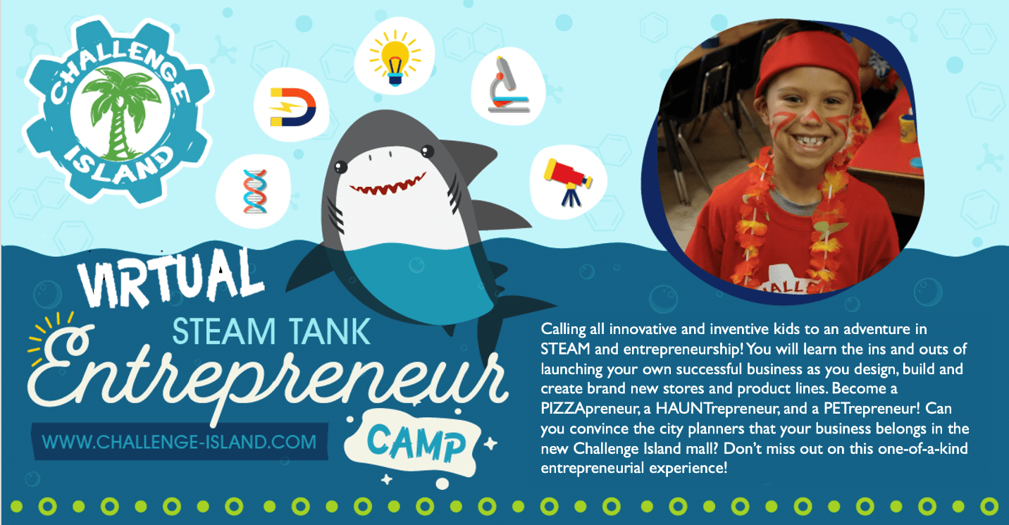 STEAM Entrepreneur 3-Day Camp Opens in new window